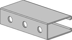 AS 100H Channel with Holes