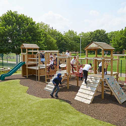 Should You Invest in Wooden or Metal Playground Equipment?